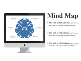 Mind Map Ppt Summary Slide Download
