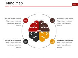 Mind Map Presentation Powerpoint Templates
