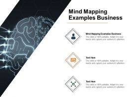 Mind Mapping Examples Business Ppt Powerpoint Presentation Layouts Infographics Cpb