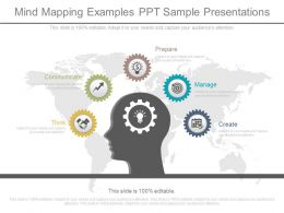 Mind Mapping Examples Ppt Sample Presentations