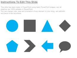 97774182 Style Variety 1 Gears 5 Piece Powerpoint Presentation Diagram Infographic Slide