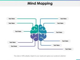 Mind Mapping Ppt Summary Clipart Images