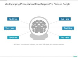 Mind Mapping Presentation Slide Graphic For Finance People