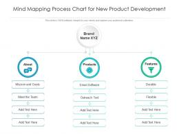 Mind Mapping Process Chart For New Product Development