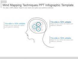 Mind Mapping Techniques Ppt Infographic Template