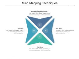 Mind Mapping Techniques Ppt Powerpoint Presentation Layouts Designs Download Cpb