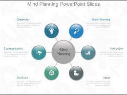 Mind Planning Powerpoint Slides