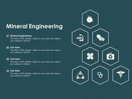 Mineral Engineering Ppt Powerpoint Presentation Infographic Template Layout