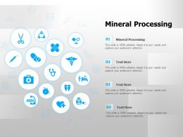 Mineral Processing Ppt Powerpoint Presentation Styles Backgrounds