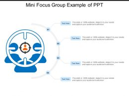 Mini Focus Group Example Of Ppt