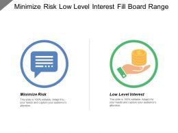 Minimize Risk Low Level Interest Fill Board Range