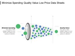 Minimize Spending Quality Value Low Price Data Sheets