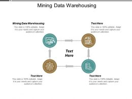 Mining Data Warehousing Ppt Powerpoint Presentation Pictures Inspiration Cpb