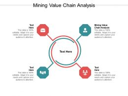 Mining Value Chain Analysis Ppt Powerpoint Presentation Pictures Skills Cpb