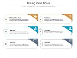 Mining Value Chain Ppt Powerpoint Presentation Slides Graphics Design Cpb