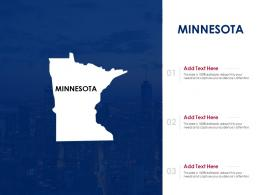 Minnesota Powerpoint Presentation PPT Template