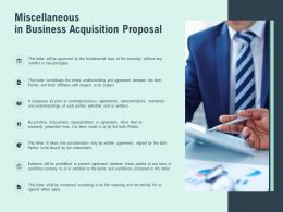 Miscellaneous In Business Acquisition Proposal Fundamental Ppt Slides