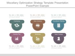 Miscellany Optimization Strategy Template Presentation Powerpoint Example