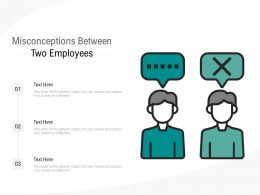 Misconceptions Between Two Employees