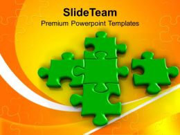missing piece of the puzzle solution powerpoint templates ppt themes and graphics 0213