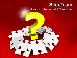 Missing Puzzle Piece Solution Concept PowerPoint Templates PPT Themes And Graphics 0313