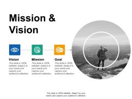 Mission And Vision Ppt Summary Background Designs