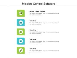 Mission Control Software Ppt Powerpoint Presentation Gallery Infographics Cpb