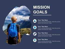 Mission Goals Powerpoint Templates