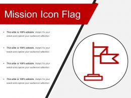Mission Icon Flag