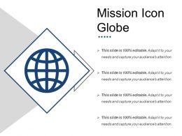 Mission Icon Globe