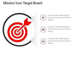 Mission Icon Target Board