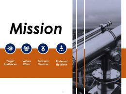 Mission Powerpoint Slide Deck Samples Template 1