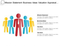 Mission Statement Business Ideas Valuation Appraisal Target Segmentation