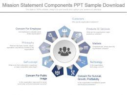 mission_statement_components_ppt_sample_download_Slide01