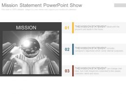 Mission Statement Powerpoint Show