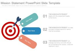 Mission Statement Powerpoint Slide Template