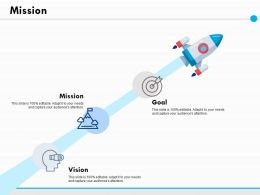 Mission Vision Goal Ppt Powerpoint Presentation File Infographic Template
