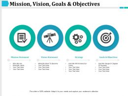 Mission Vision Goals And Objectives Ppt Slide Themes