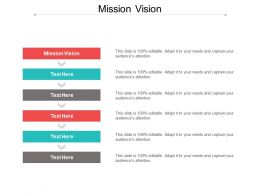 Mission Vision Ppt Powerpoint Presentation File Graphics Design Cpb