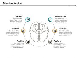 Mission Vision Ppt Powerpoint Presentation File Show Cpb