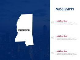 Mississippi Powerpoint Presentation PPT Template