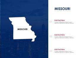 Missouri Powerpoint Presentation PPT Template
