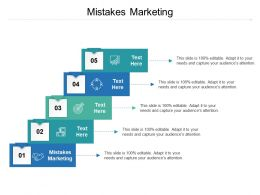 Mistakes Marketing Ppt Powerpoint Presentation File Example Cpb