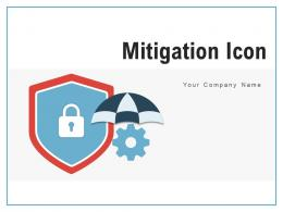 Mitigation Icon Individual Insurance Management Circular Gear Arrow