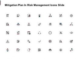Mitigation Plan In Risk Management Icons Slide Financials C235 Ppt Powerpoint Presentation Inspiration