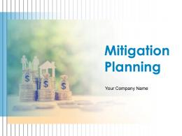 Mitigation Planning Powerpoint Presentation Slides