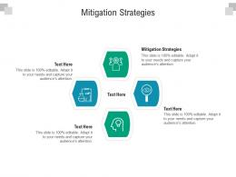 Mitigation Strategies Ppt Powerpoint Presentation Infographics Images Cpb