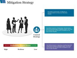 Mitigation Strategy Ppt Styles Ideas