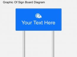 mj Graphic Of Sign Board Diagram Powerpoint Template