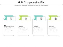 MLM Compensation Plan Ppt Powerpoint Presentation Inspiration Sample Cpb